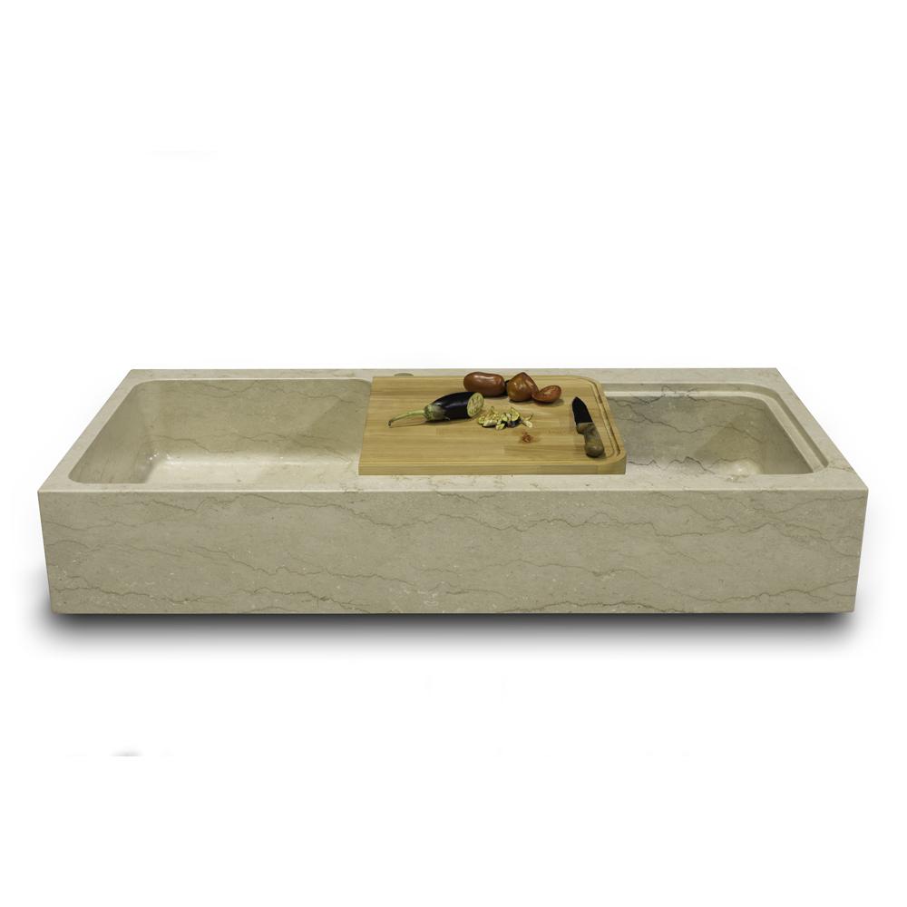 Lavello o lavabo in pietra per cucina online lo conte marmi - Lavandino cucina in pietra ...