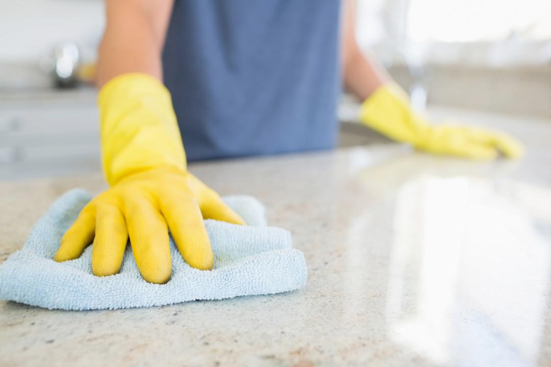 Come pulire il marmo o il granito
