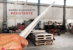 Sistema di alleggerimento marmo resistente