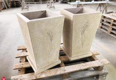 Vasi in pietra per esterno
