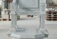 realizzazione sedia chiesa in marmo