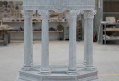 realizzazione ambone in marmo
