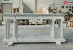 realizzazione altare in pietra