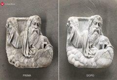 Restauro scultura in pietra