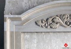 Stone portal with decoration