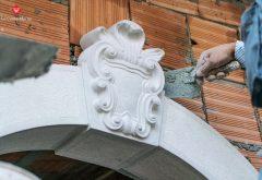 Chiave portale in pietra