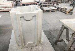 colonna altare in marmo